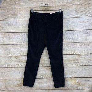 NYDJ Ami Skinny Legging Velvet Black Stretch Jeans